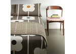 Orla Kiely Mushroom Giant Abacus Double Cotton Quilt Cover Set