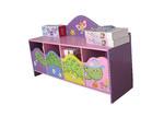 All 4 Kids Worm Theme Storage Cupboard Bench