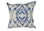 Bungalow Living Indigo Waves Cushion