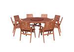 Maya Outdoor Furniture 8 Seater Idaho Octagonal Dining Set