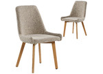 Homestar Furniture Alexandria Upholstered Dining Chairs (Set of 2)
