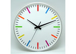 Pearl Time Coloured Wall Clock