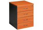 Cooper Furniture Mobile Pedestal with 4 Drawer
