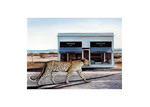 Urban Road Catwalk Canvas Wall Art