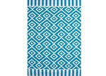 Ground Work Rugs Chatai Aquaite Reversible Indoor Outdoor Rug