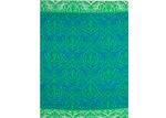 Ground Work Rugs Green Chatai Peacock Reversible Indoor Outdoor Rug