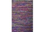 Ground Work Rugs Purple Sari Hand Woven Silk-Blend Rug