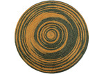 Ground Work Rugs Grey & Gold Salvador Hand Made Round Rug