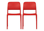 Bright Side Furniture Bora Modern Dining Chairs (Set of 2)