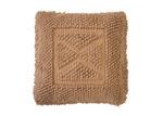 Bambury Fawn Asscher Square Cotton Cushion