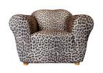 Sure Fit Statement Leopard Print Armchair Cover