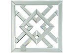 The Decor Store Square Wall Art Mirror