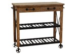 The Decor Store Rustic Kitchen Trolley
