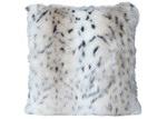 J. Elliot Snow Leopard Faux Fur Cushion