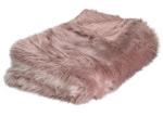J. Elliot Blush Iclyn Ombre Faux Fur Throw