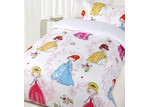 Happy Kids Princess Girl Glow in the Dark Quilt Cover Set