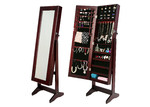 Forever Beauty Mirror Jewellery Cabinet Storage Organiser