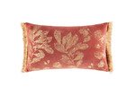 Kas Botanical Rosamund Rectangular Velvet Cushion