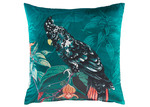 Kas Printed Charlie Square Velvet Cushion