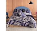 Kas Blue Daintree Cotton Sateen Quilt Cover Set