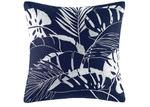 Kas Blue Daintree Cotton Percale European Pillowcase