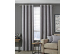 Accessorize Dove Grey Vermont Eyelet Curtain Set