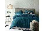 Accessorize Linen & Cotton Jade Quilt Cover Set