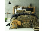 Accessorize Computer Power Gold Printed Cotton Quilt Cover Set