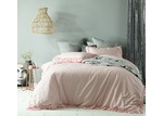 Accessorize Blush Maison Linen Cotton Quilt Cover Set