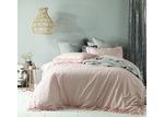 Accessorize Blush Maison Linen Cotton Quilt Cover Set