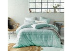 Accessorize Duckegg Boho Tassel Linen Cotton Quilt Cover Set