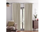 Accessorize Cream Gala Concealed Tab Top Curtains (Set of 2)