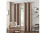 Accessorize Natural  Vermont Eyelet Curtains