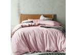 Accessorize Blush Ella Washed Cotton Quilt Cover Set