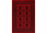 Lifestyle Floors Red & Black Tribute Oriental Rug