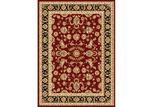 Lifestyle Floors Red & Black Julianne Oriental Rug