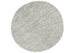 Lifestyle Floors Grey Skandi Hand Woven Wool-Blend Round Rug