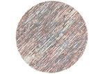 Lifestyle Floors Multi Coloured Skandi Hand Woven Wool-Blend Round Rug