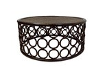 The Medford Collective Zoie Bamboo Coffee Table