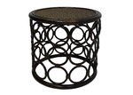 The Medford Collective Zoie Bamboo Side Table