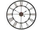 Lifestyle Traders Roman Numerals Iron Clock