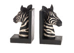 Lifestyle Traders Polyresin Zebra Bookend