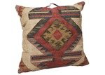 Lifestyle Traders Kilm Panja Floor Cushion with Handlle