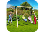 Plum Gibbon 4 Piece Swing Set