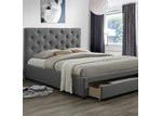 VIC Furniture Kingston Queen Bed & Mattress
