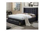 VIC Furniture Atlanta Queen Bed & Mattress