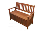 Woodlands Outdoor Furniture Whitehaven Outdoor Timber Storage Bench