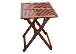 Woodlands Outdoor Furniture Concha Square Outdoor Timber Folding Table