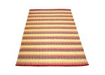 Ground Work Rugs Red Tiskoni Hand-Knotted Cotton Rug