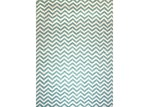 Ground Work Rugs Turquoise Parker Hand-Knotted Cotton Rug
